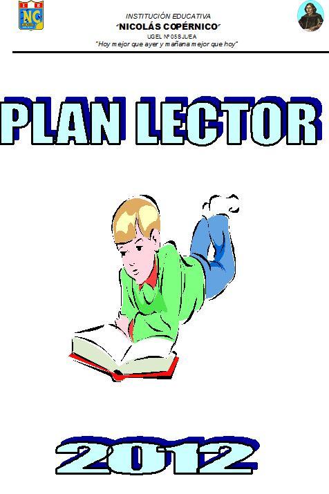Libros Plan Lector 2012 - I.E. Nicolás Copérnico